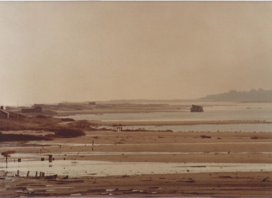 Blizzard of 1978, Coast Guard Beach Overwash, Eastham, Cape Cod